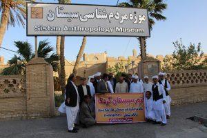 گزارش تصویری بازدیدجمعی ازفرهیختگان سیستانی استان گلستان ازموزه مردم شناسی زابل
