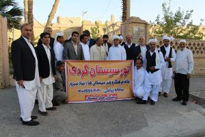 IMG 5085 300x200 گزارش تصویری بازدیدجمعی ازفرهیختگان سیستانی استان گلستان ازموزه مردم شناسی زابل