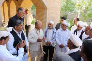 IMG 5087 300x200 گزارش تصویری بازدیدجمعی ازفرهیختگان سیستانی استان گلستان ازموزه مردم شناسی زابل