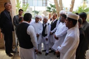 IMG 5088 300x200 گزارش تصویری بازدیدجمعی ازفرهیختگان سیستانی استان گلستان ازموزه مردم شناسی زابل