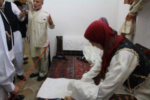 IMG 5111 300x200 گزارش تصویری بازدیدجمعی ازفرهیختگان سیستانی استان گلستان ازموزه مردم شناسی زابل