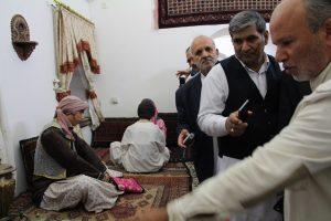 IMG 5115 300x200 گزارش تصویری بازدیدجمعی ازفرهیختگان سیستانی استان گلستان ازموزه مردم شناسی زابل