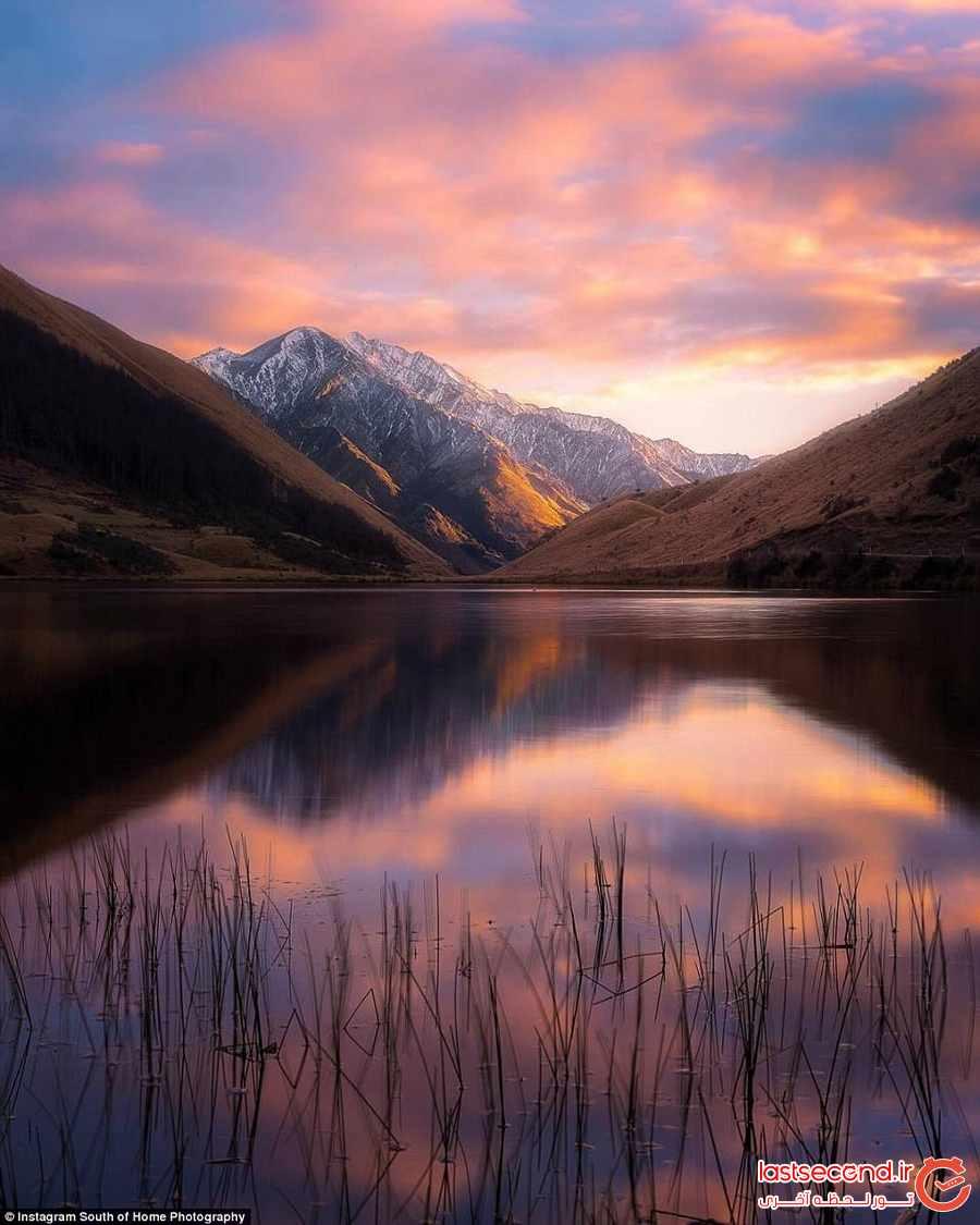 طلوع خورشید دریاچه کرکپاتریک