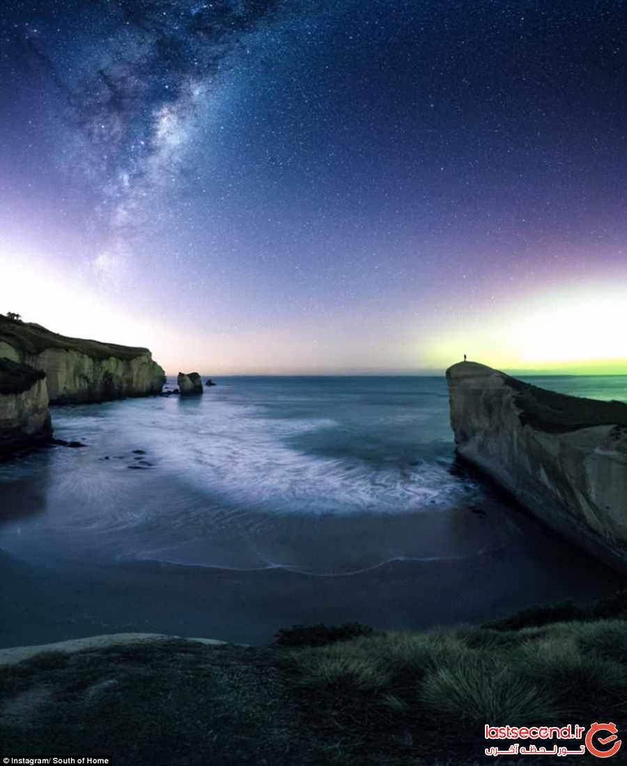 ساحل تونل و آسمانی