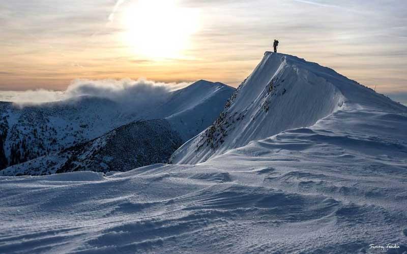 قله کوه عاشقانه