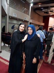 فاطمه لشکری هیئت مدیره ی انجمن دل عالم